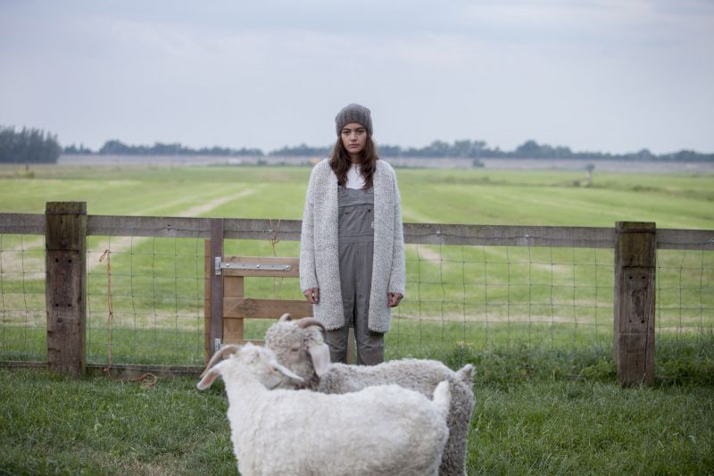 Baambrugge wool Jet cardigan.