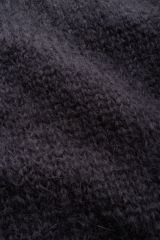 Mohair dark blue.