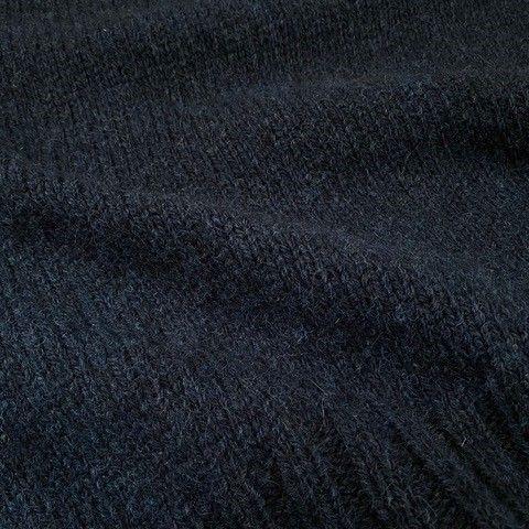 Dutch wool navy detail breisel.