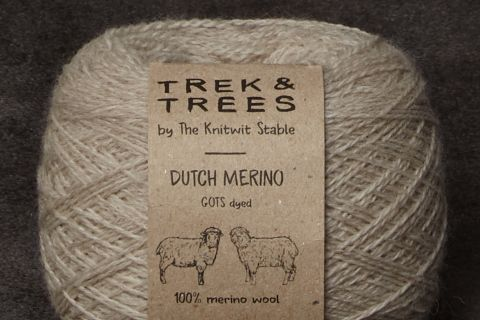 Dutch merino wool yarn.