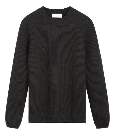 Torben men's sweater merino wool packshot.