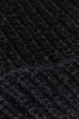 Merino dark grey detail knit.